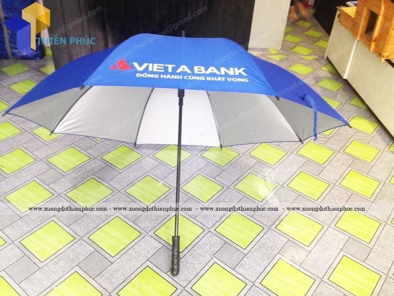 Dù cầm tay loại lớn in ấn theo yêu cầu VIETA BANK