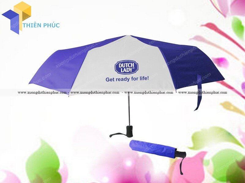 Chuyên sản xuất ô dù cầm tay quà tặng tại hcm