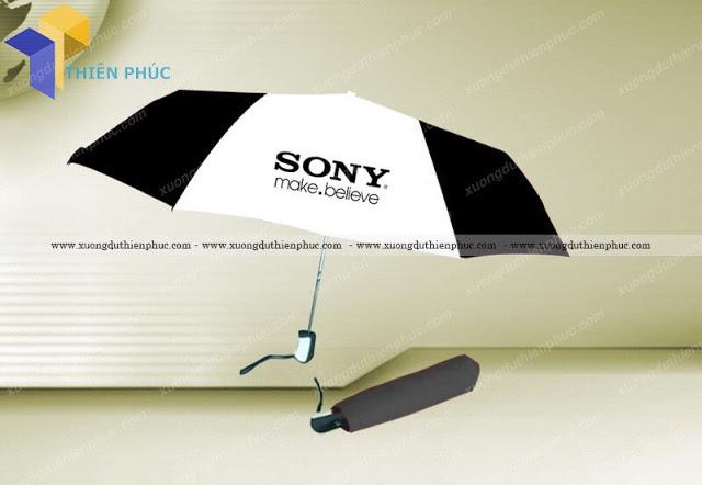 Ô dù cầm tay che mưa giá rẻ in quảng cáo theo yêu cầu