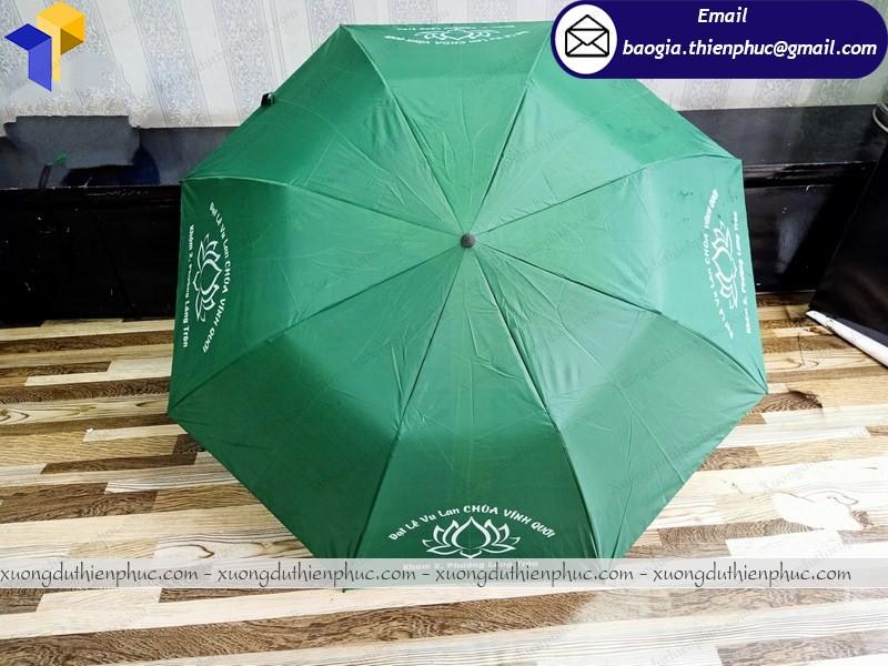 ô dù cầm tay làm quà tặng